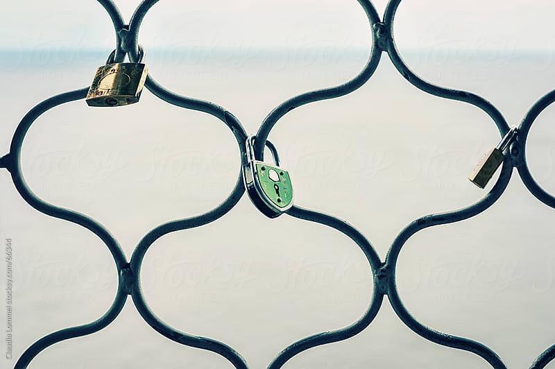 Love padlocks by Claudia Lommel for Stocksy United