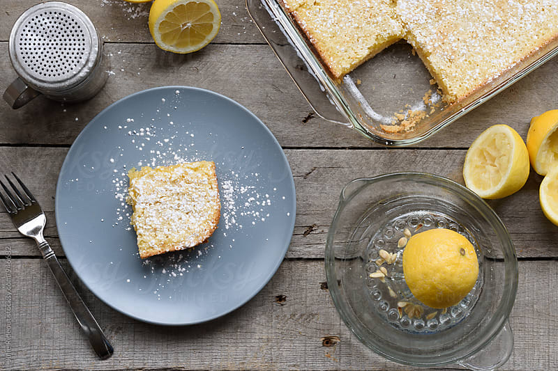 Lemon Bars by Julie Rideout for Stocksy United