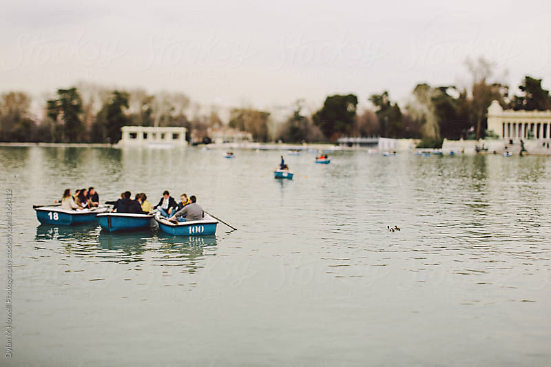 Rowboats by Dylan M Howell Photography for Stocksy United