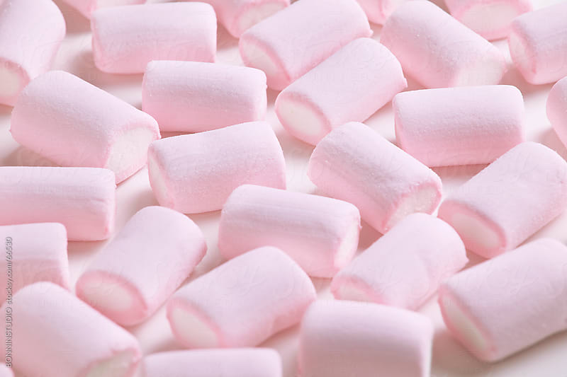 Pink marshmallows. by BONNINSTUDIO for Stocksy United