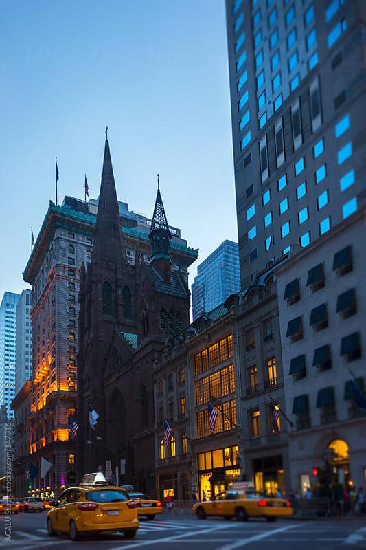 Church on Fifth Avenue by ACALU Studio for Stocksy United