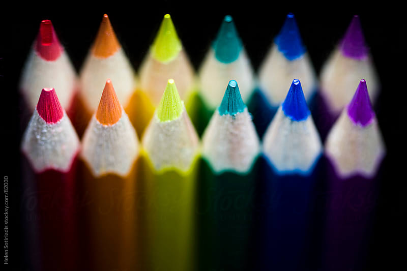 Color pencils by Helen Sotiriadis for Stocksy United