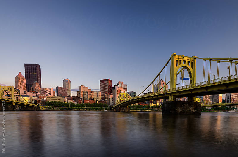 Pittsburgh Skyline by Brian Koprowski for Stocksy United