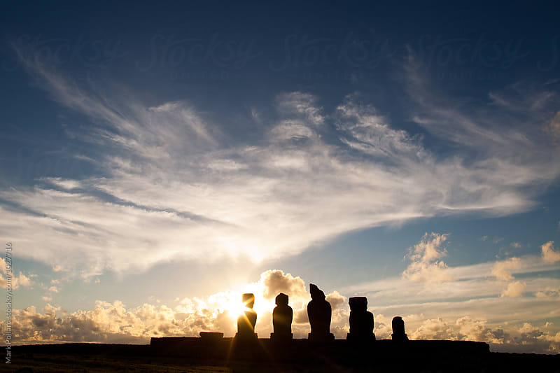 Easter Island (Rapa Nui) by Mark Pollard for Stocksy United