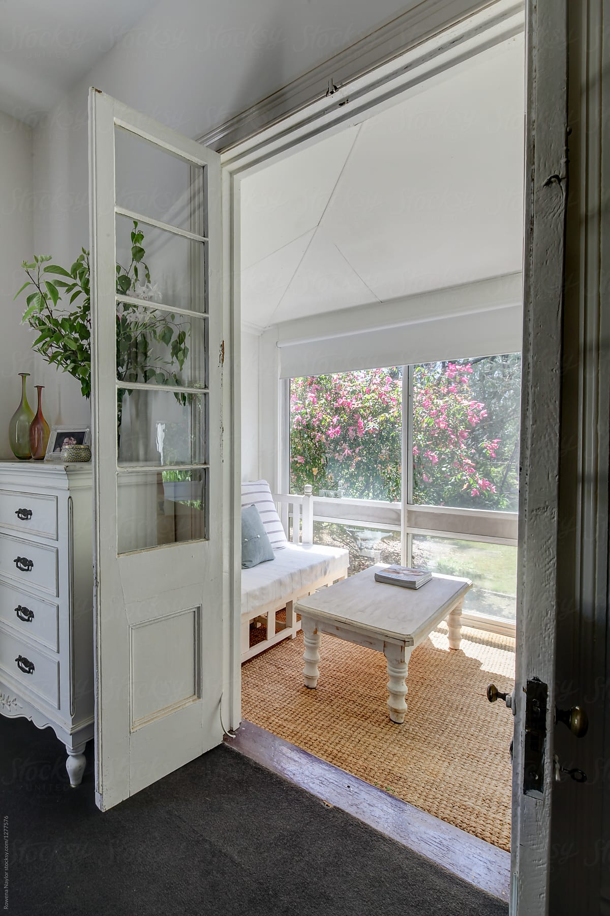 Sunroom Annexe From Bedroom Of Country Home Stocksy United