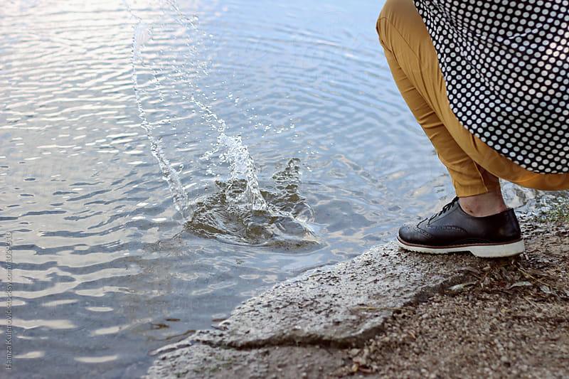Photo of a river by Hamza Kulenović for Stocksy United
