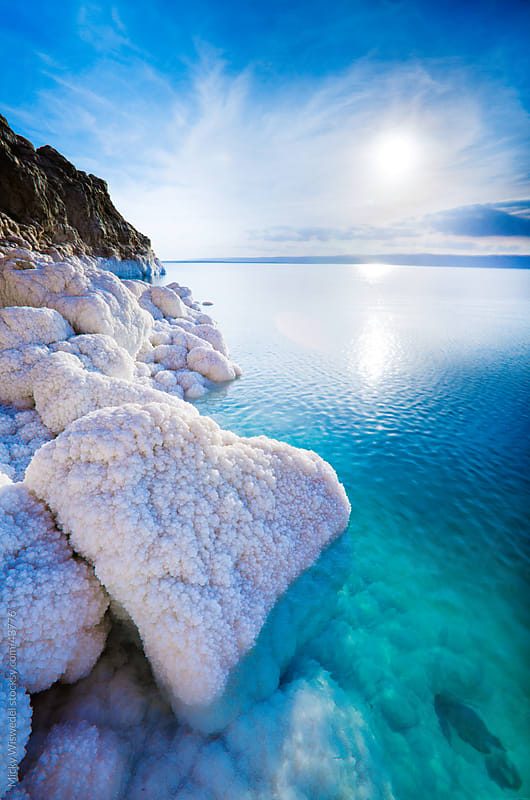 Dead Sea salt crytals by Micky Wiswedel for Stocksy United