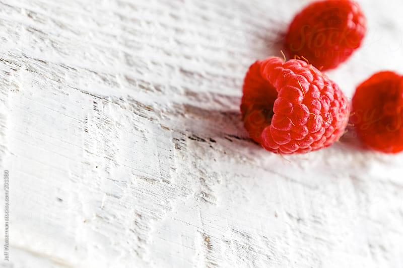Closeup of Organic Raspberries by Studio Six for Stocksy United