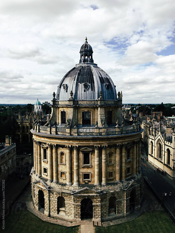 Exterior view of Radcliffe Camera by Kirstin Mckee for Stocksy United
