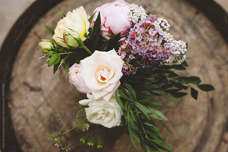Flower Centerpieces by Nate & Amanda Howard for Stocksy United
