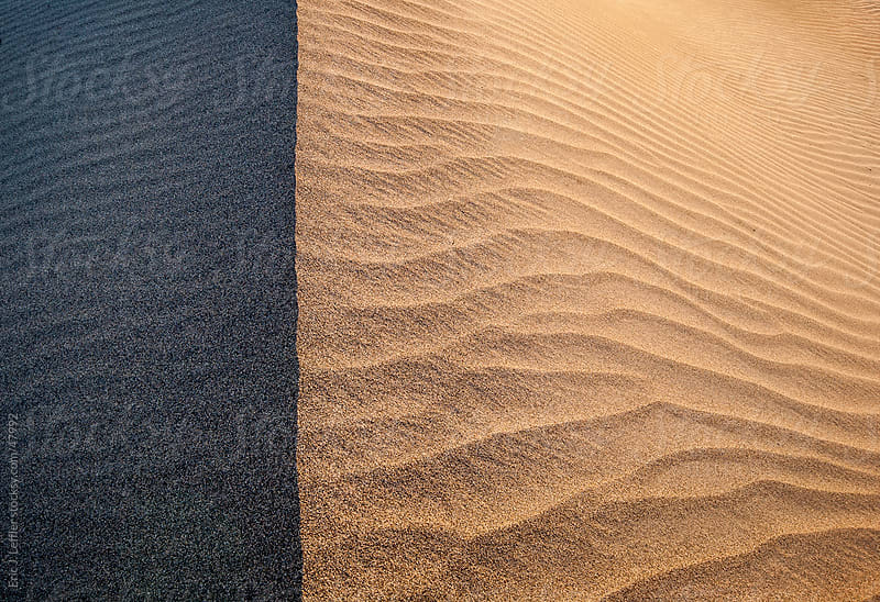 Death Valley Sand Dune by Eric J. Leffler for Stocksy United