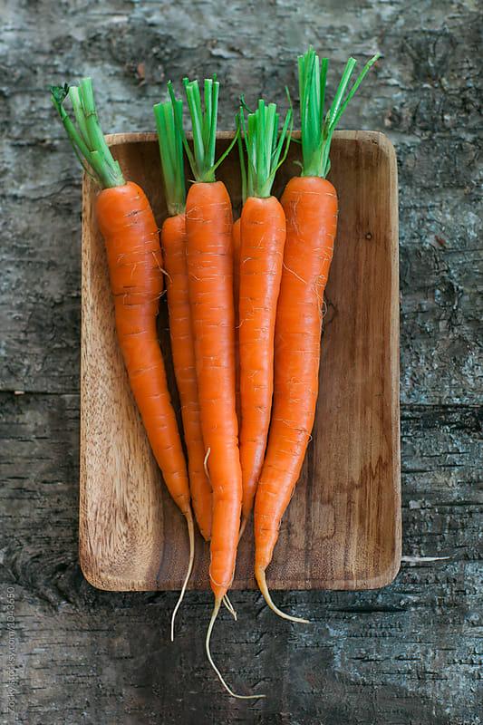 Organic Carrots. by Zocky for Stocksy United