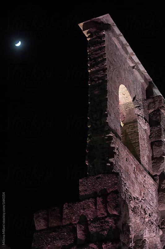 Roman theatre by Milena Milani for Stocksy United