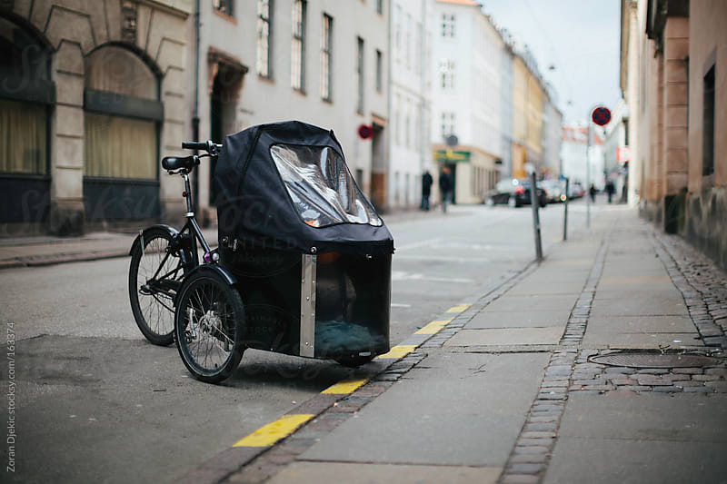 Bicycle carriage by Zocky for Stocksy United