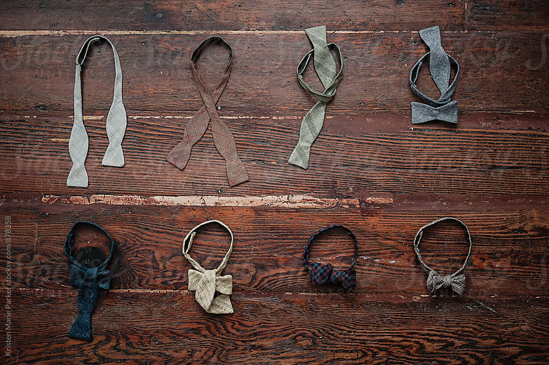 Bow tie progression by Kristen Marie Parker for Stocksy United