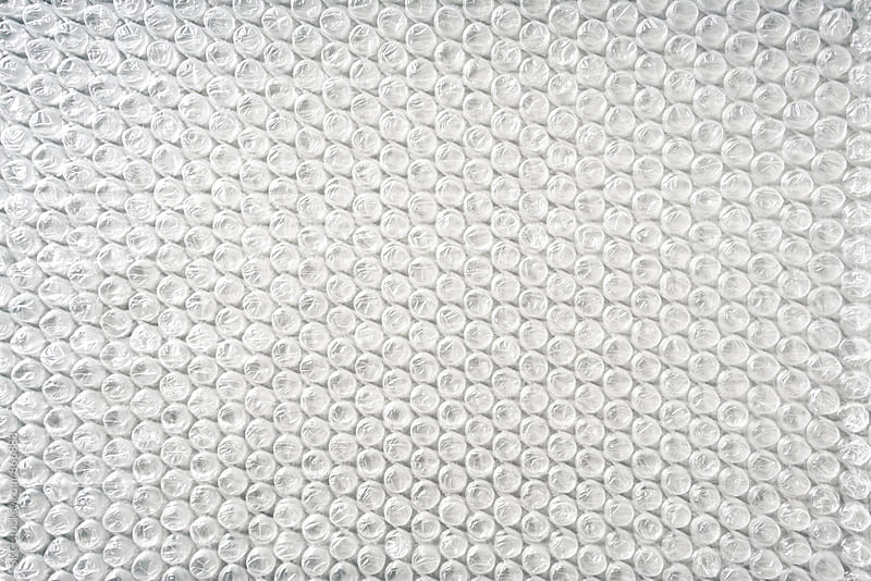 Bubble Wrap Background by suzanne clements for Stocksy United