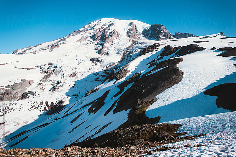 Mount Rainier National Park in Washington by michelle edmonds for Stocksy United