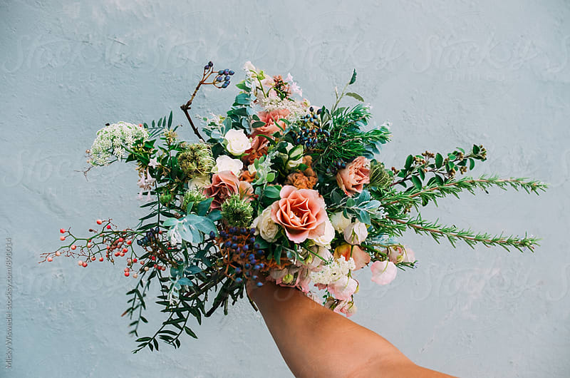 Wild bouquet of flowers by Micky Wiswedel for Stocksy United