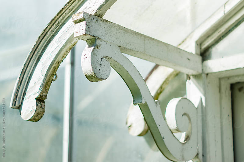 Vintage Greenhouse Detail by Terry Schmidbauer for Stocksy United