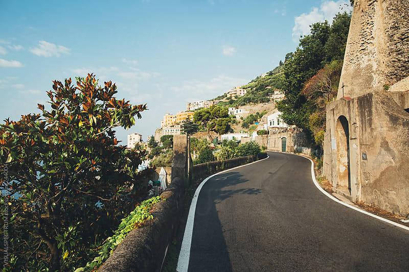 Italy - Amalfi Coastal Road by VISUALSPECTRUM for Stocksy United