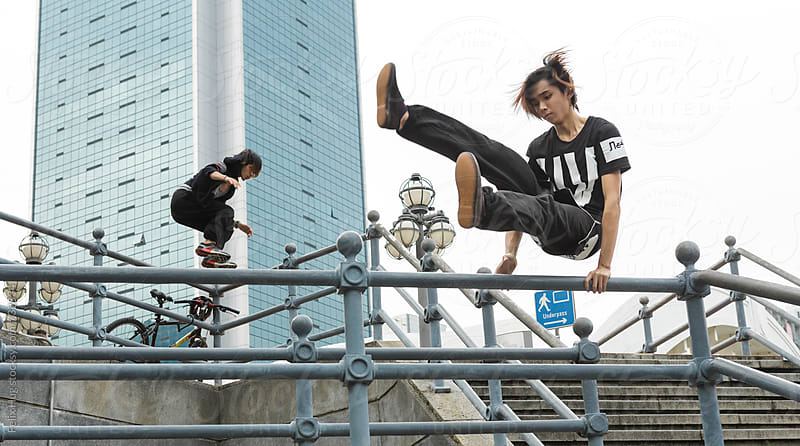 Parkour by Felix Hug for Stocksy United