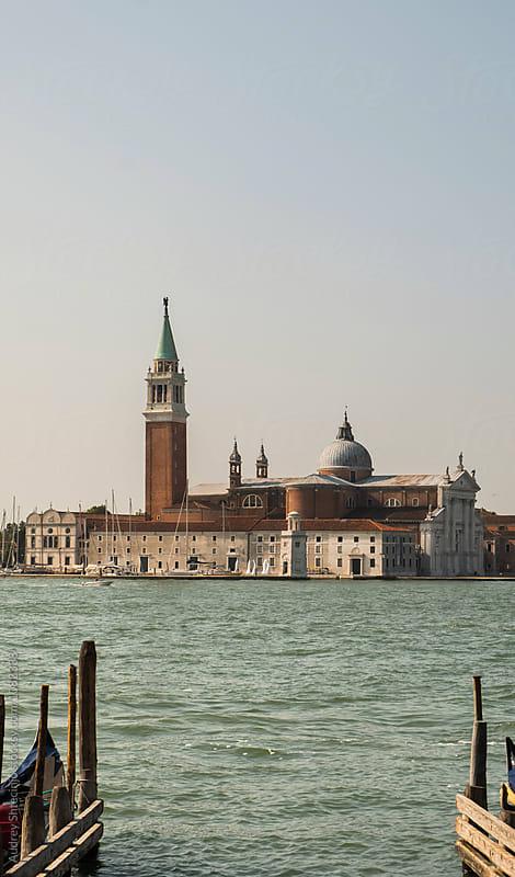 Venice /San Giorgio  Maggiore  basilica. by Audrey Shtecinjo for Stocksy United