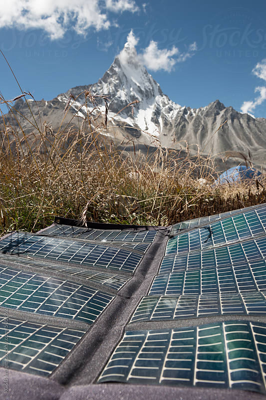 solar panel  by RG&B Images for Stocksy United