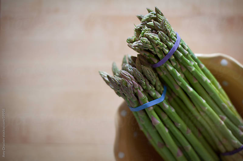 Fresh Asparagus by Amy Drucker for Stocksy United