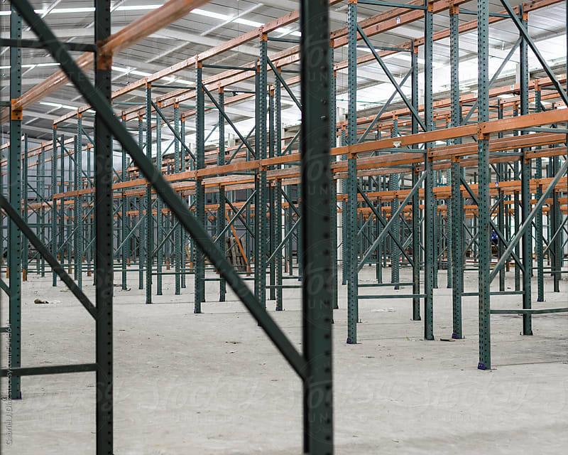 Internal factory buildings by Gabriel Diaz for Stocksy United
