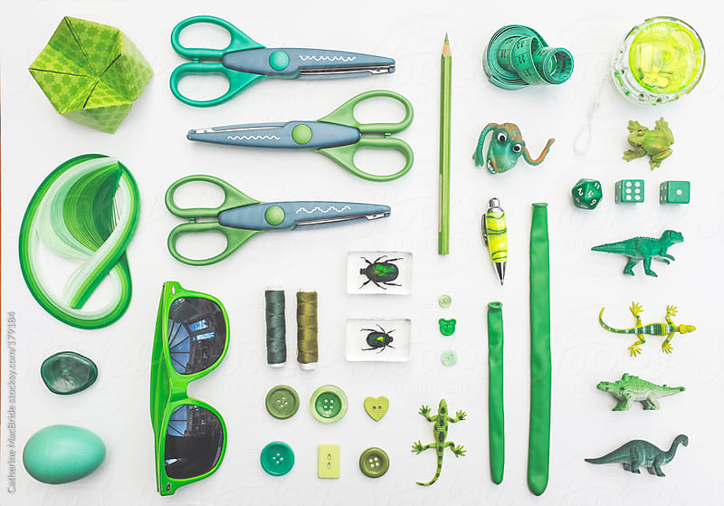 Forty shades of green by Catherine MacBride for Stocksy United