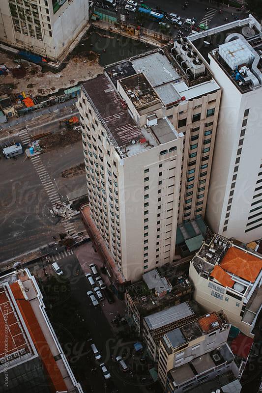 Saigon skyline ho chi minh city vietnam by Jesse Morrow for Stocksy United