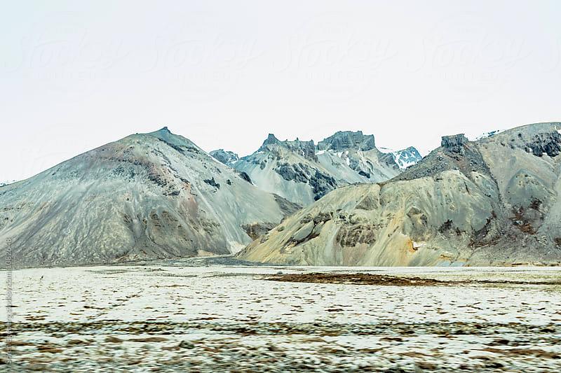 Mountains in Iceland by Soren Egeberg for Stocksy United