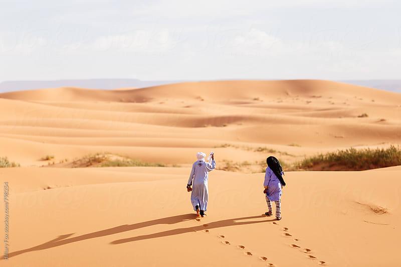 Into the Sahara by Hillary Fox for Stocksy United