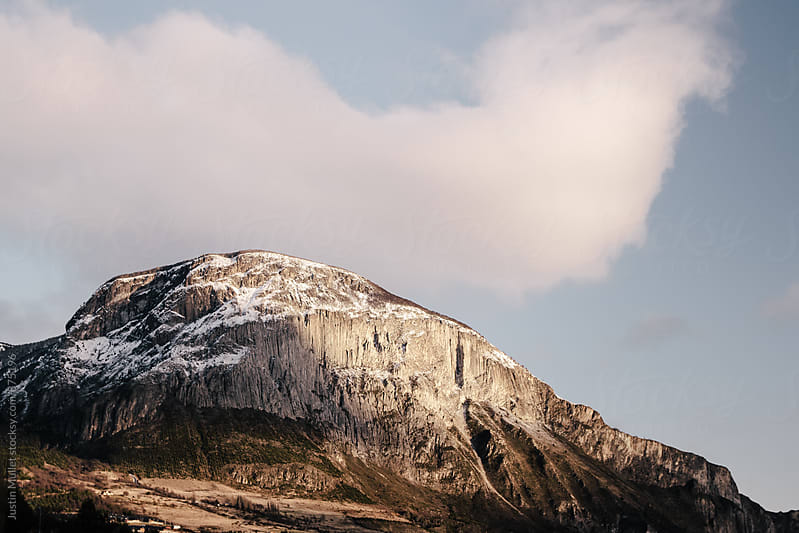 Mount Mckay in Coyhaique Chile by Justin Mullet for Stocksy United