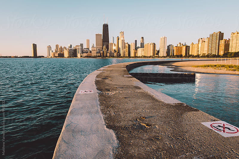 Chicago Cityscape by Matthew Yarnell for Stocksy United