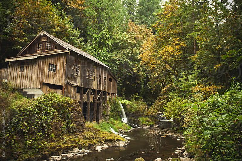 Cedar Creek Grist Mill by Kevin Gilgan for Stocksy United