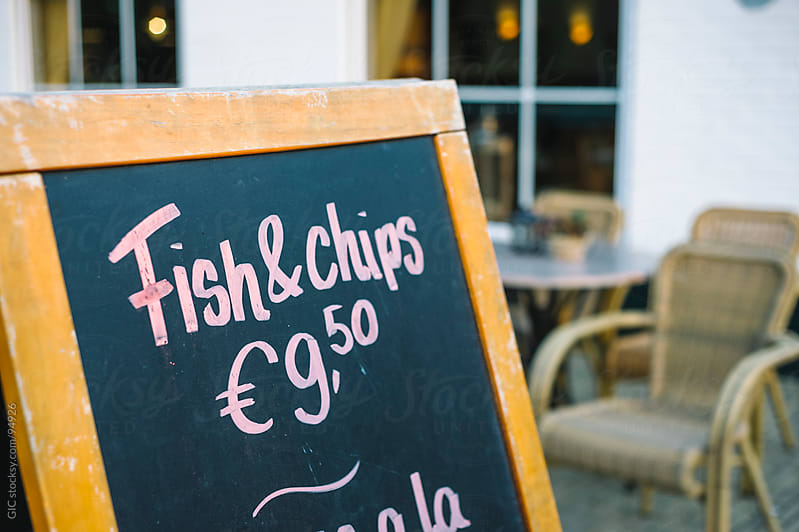 Fish And Chips by GIC for Stocksy United