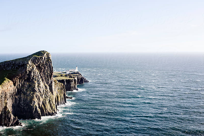 Neist Point Lighthouse, Scotland by James Ross for Stocksy United