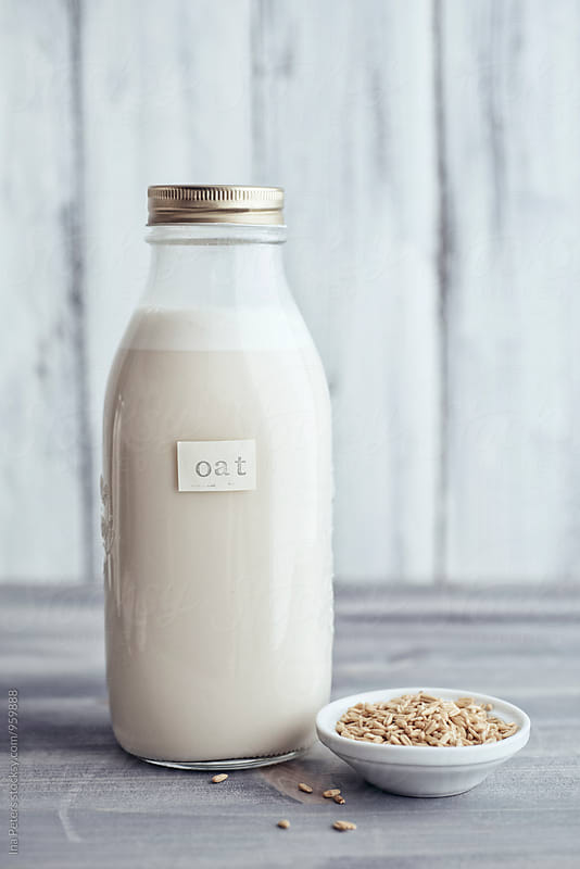 Food: Vegan Oat Milk by Ina Peters for Stocksy United