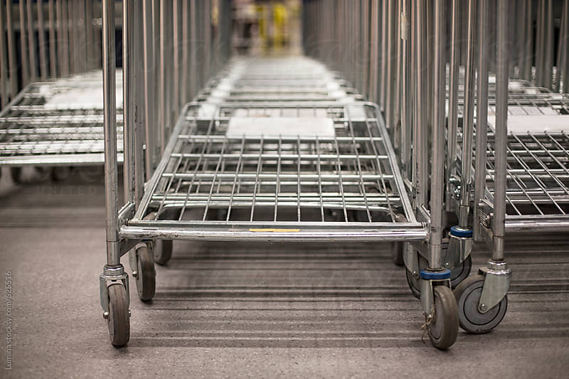 Shopping Carts by Lumina for Stocksy United
