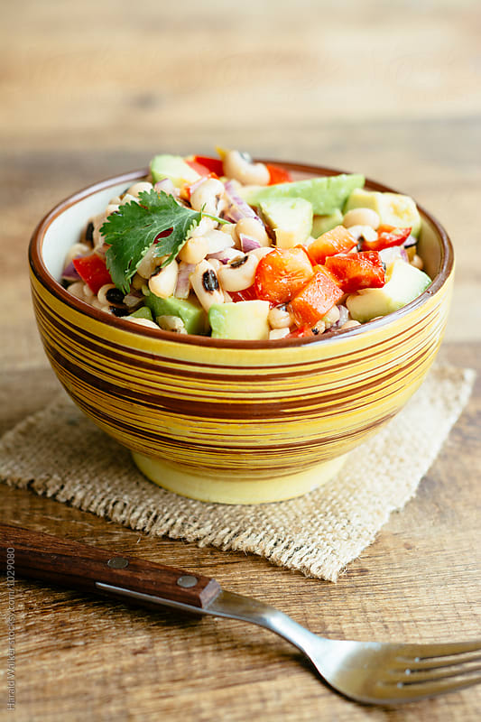 Black-eyed Pea Salad by Harald Walker for Stocksy United