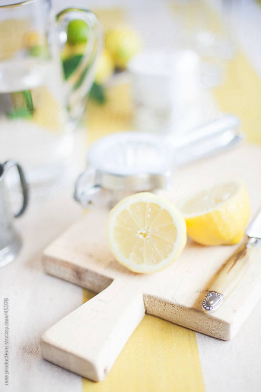 Fresh lemonade. by mee productions for Stocksy United