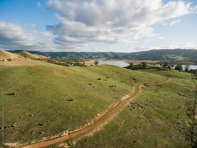 View of Lake Eildon in the Distance at Bonnie Doon by Gary Radler Photography for Stocksy United