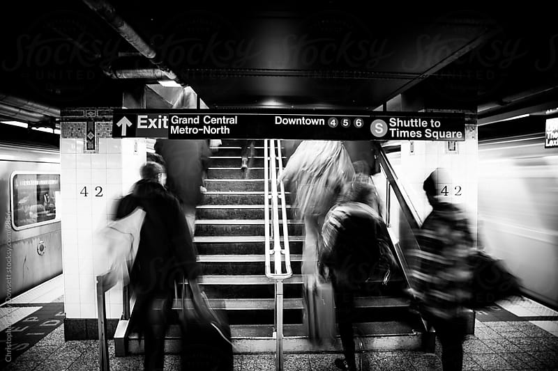 NYC subway by Christopher Troy Dowsett for Stocksy United