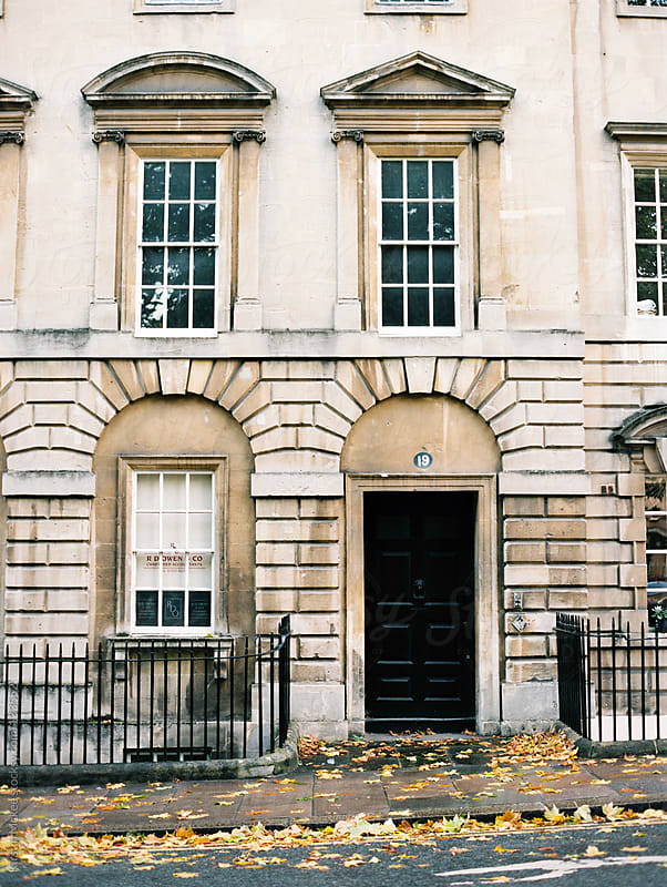 Building in Bath by Kirstin Mckee for Stocksy United