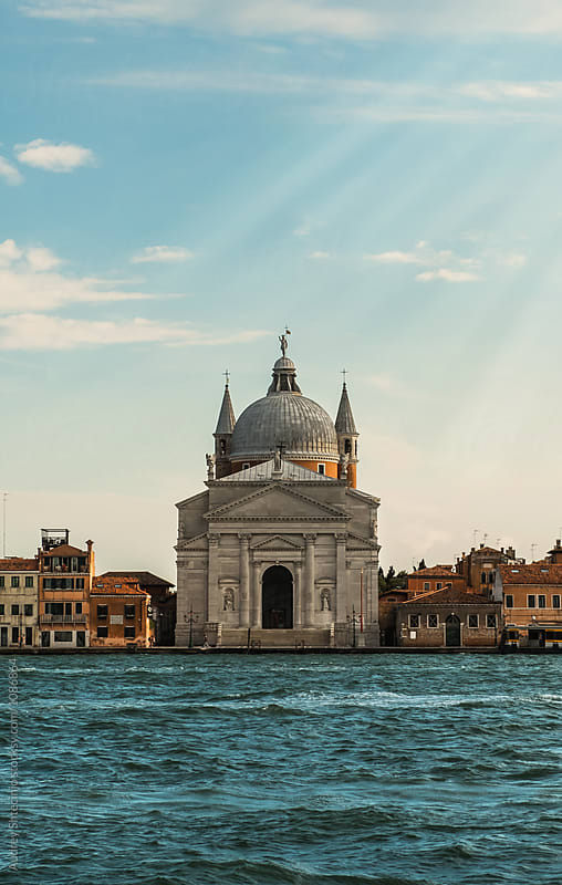 Cathedral / La Basilica del Santissimo Redentore, on Giudecca island/Venice/Italy. by Marko Milanovic for Stocksy United