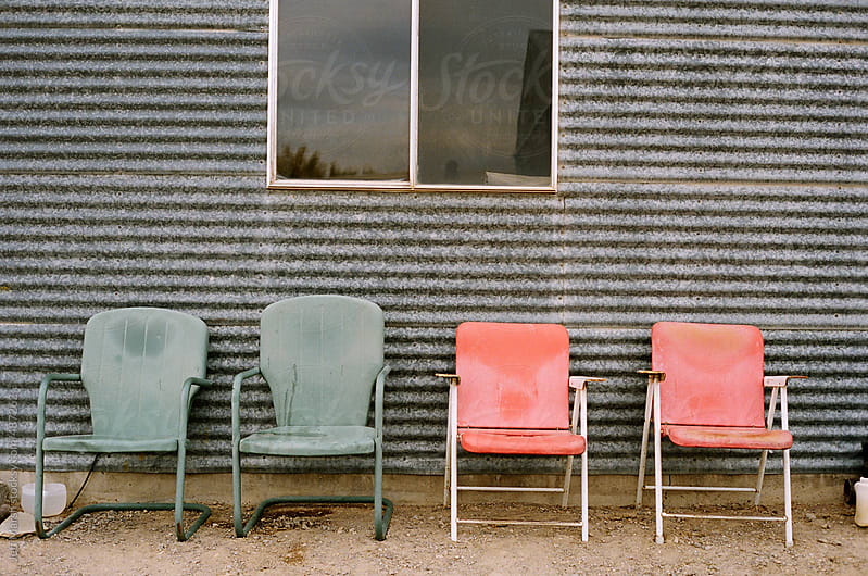 Chairs by Jeff Marsh for Stocksy United