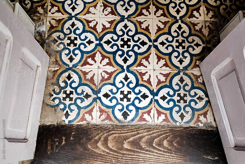 tiles of a floor in Marroco. by Jan Bijl for Stocksy United
