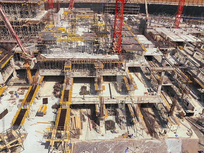 Construction site by Juri Pozzi for Stocksy United