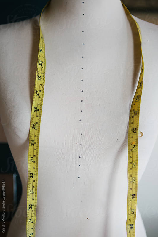 Dress Form with a Tape Measurer by Kristine Weilert for Stocksy United